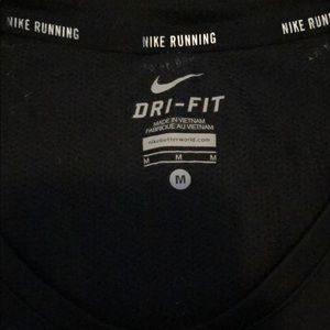Nike dry-fit women's running top. Medium